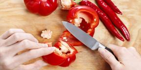 Как быстро очистить перец от семян