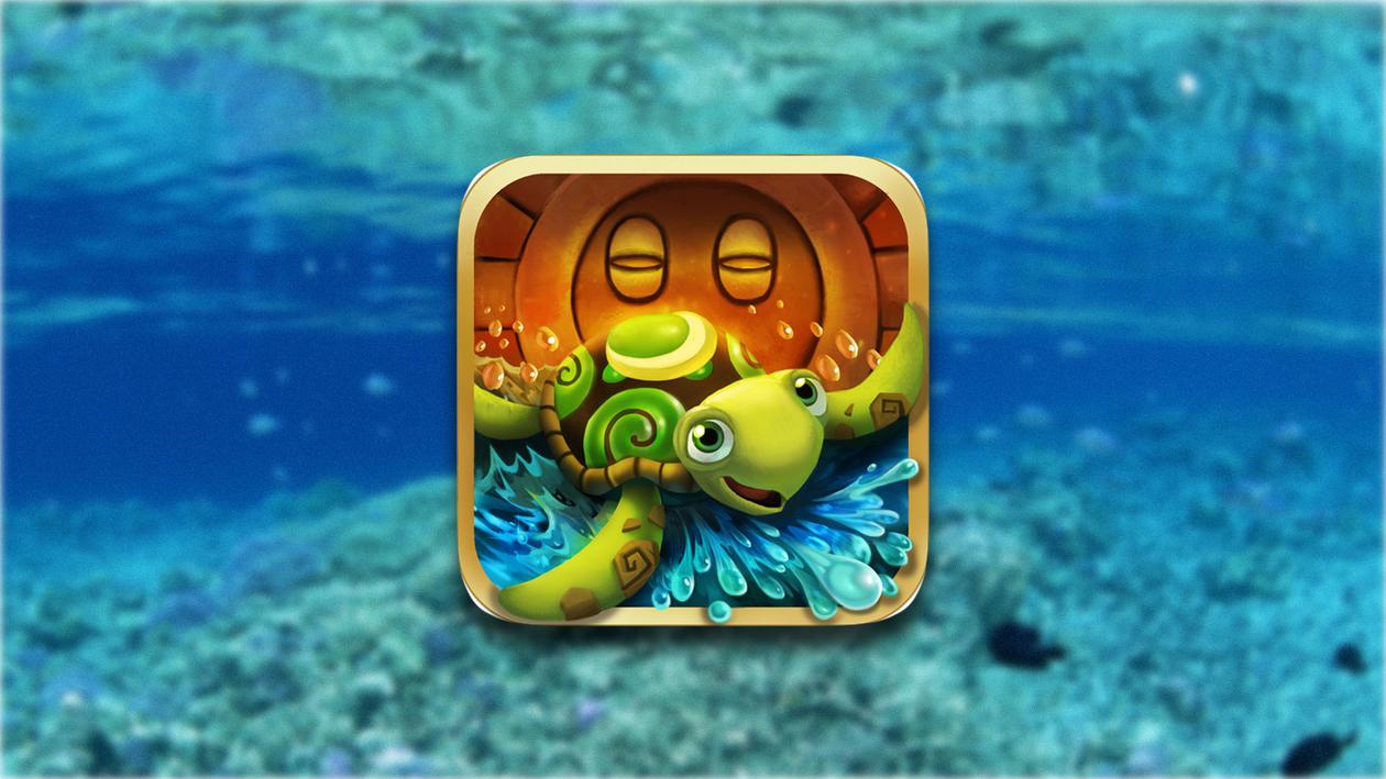 Turtle up - собери все звезды на дне океана