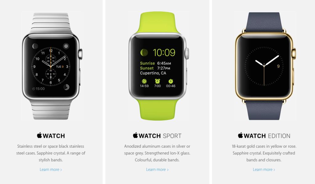 Apple планирует продать 6 миллионов Apple Watch на старте продаж