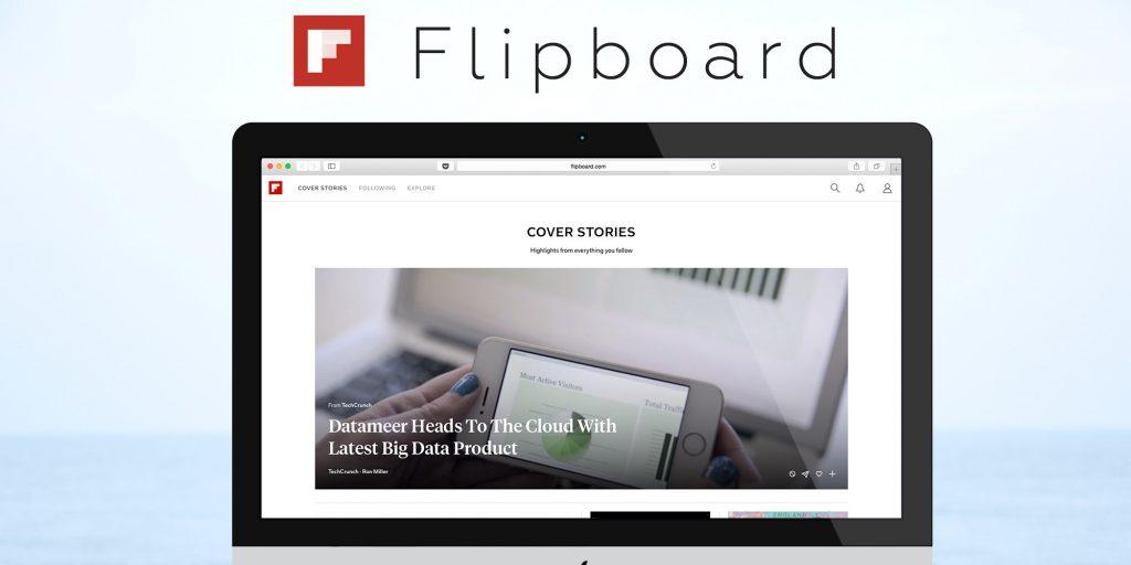 Сервис для чтения новостей Flipboard получил веб-версию