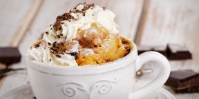 5 десертов, которые можно приготовить в микроволновке