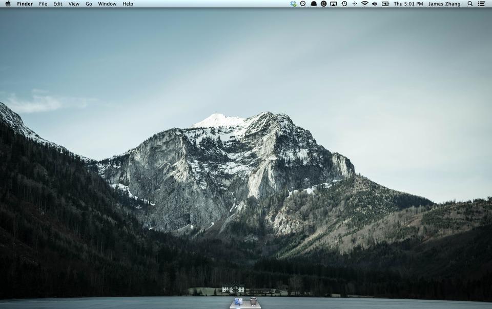 Desktop Zero — два простых правила продуктивности в OS X