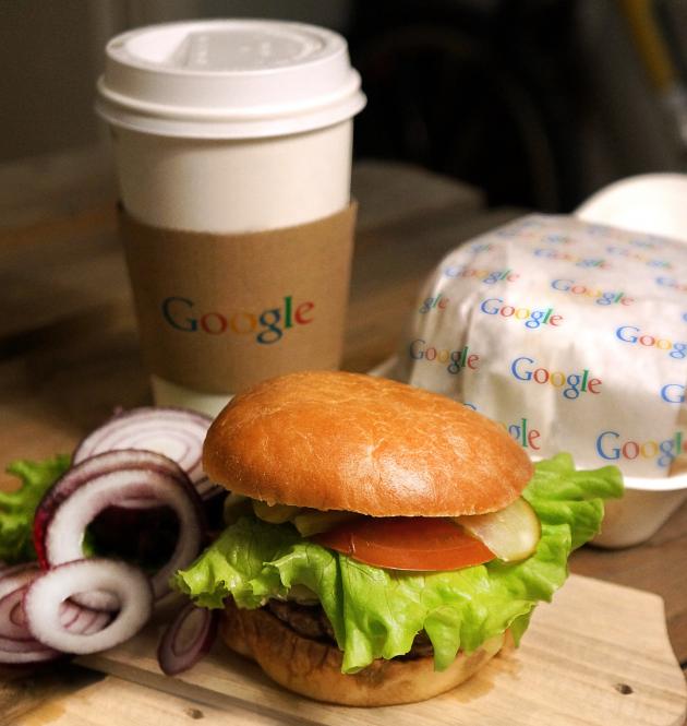 Google открывает собственную сеть фастфуда (шутка)