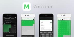 Momentum для iOS поможет следовать полезным привычкам