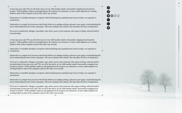 Программы для писателей: текстовый редактор OmmWriter