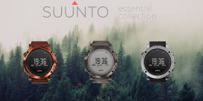 Suunto Essential Collection — функциональные часы для путешествий