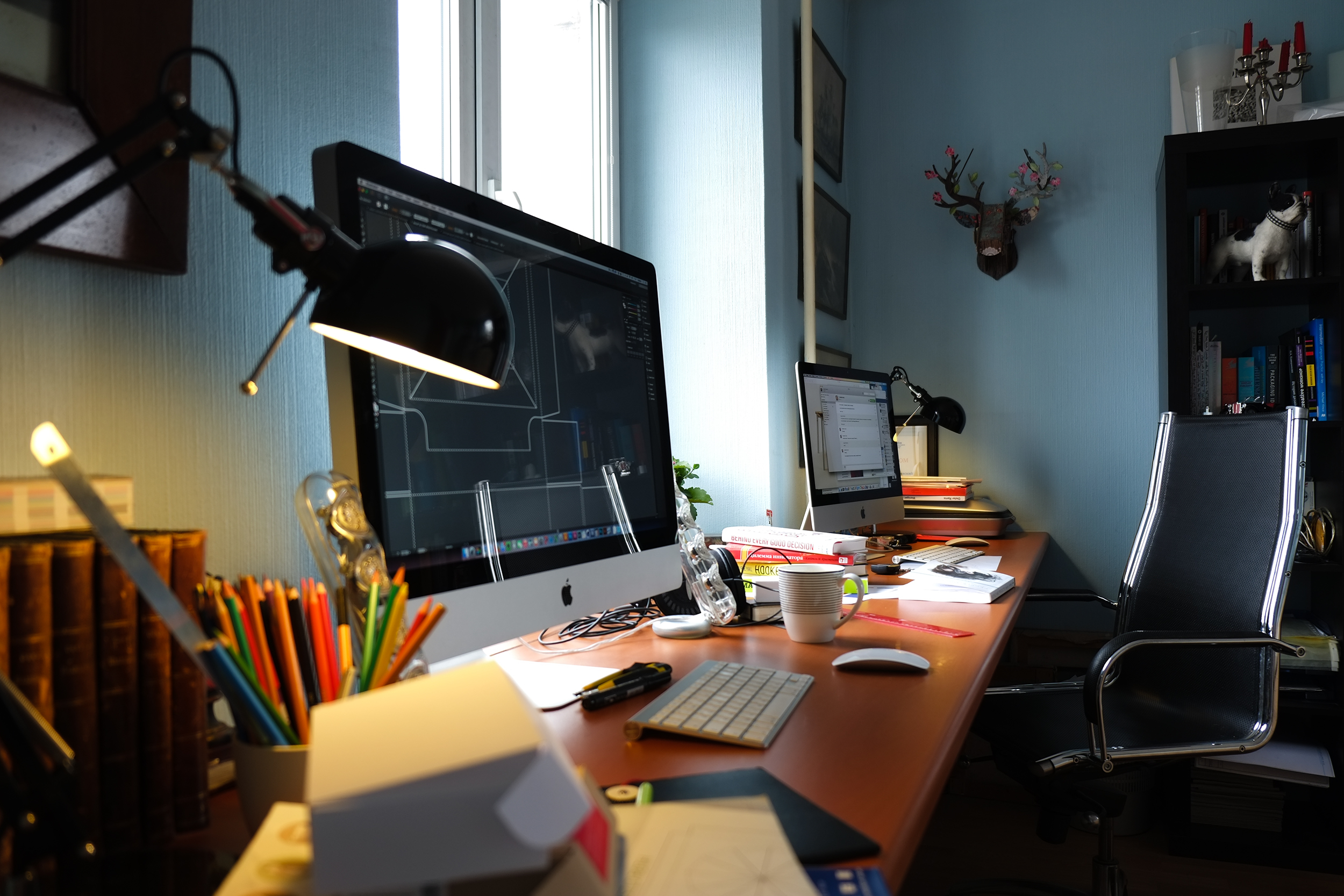 Картинка офис рабочее место