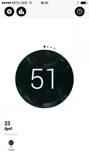 Таймер 5217 Pomodoro для iOS