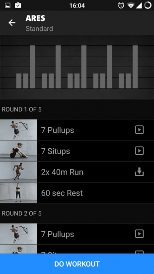 Freeletics exercises