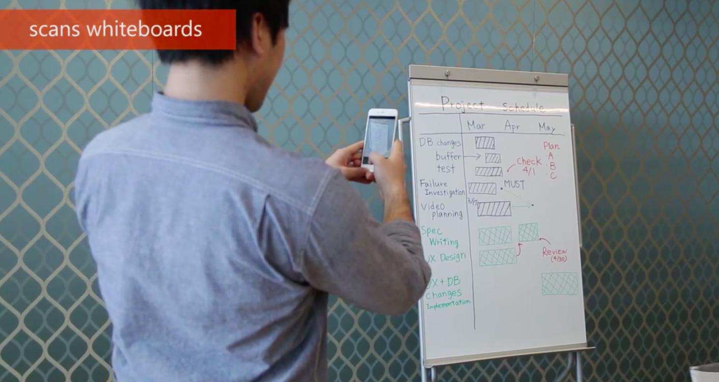 Office Lens для iPhone —новый сканер документов от Microsoft