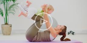 Тренировки для мам с маленькими детьми