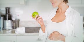 Диета для наступления беременности