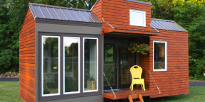 Проект hOMe научит, как построить недорогой загородный дом на колёсах