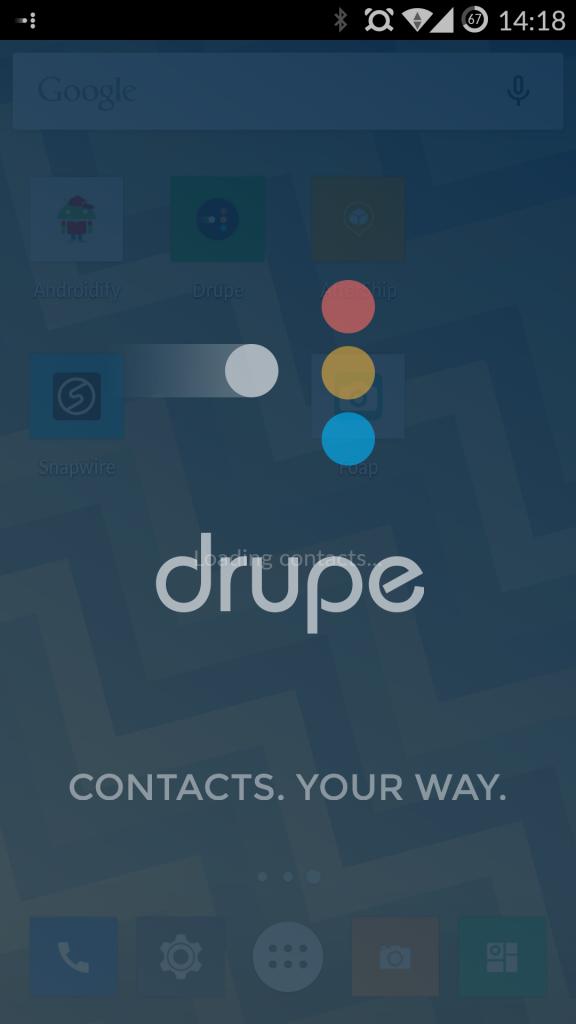 Логотип drupe для Android