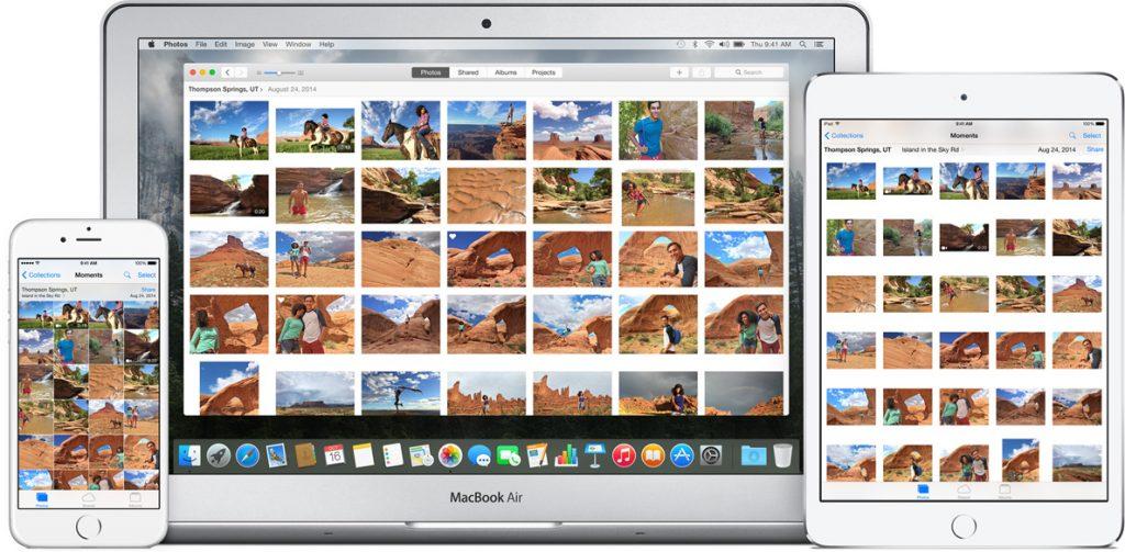 Обзор Photos для OS X