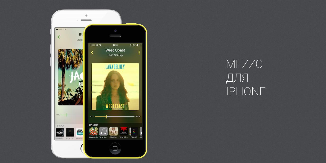 Mezzo —один из лучших сторонних плееров для iPhone