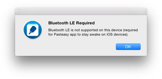 Pasteasy для OS X