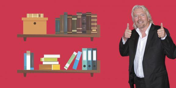 Библиотеки выдающихся людей: Ричард Брэнсон