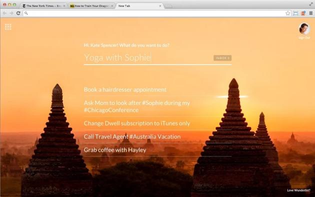 Обзор расширений для популярных браузеров: Wunderlist New Tab, Profilist и другие