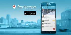 Стриминговый сервис Periscope получил версию для Android