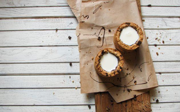 Необычный рецепт: чашка из печенья для любителей сладкого