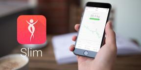Slim для iPhone поможет вам следить за весом и достигать поставленных целей