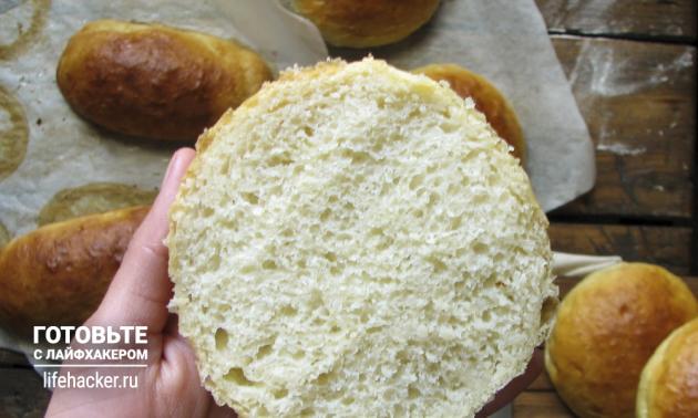 Универсальные булочки для бургеров и хот-догов готовы