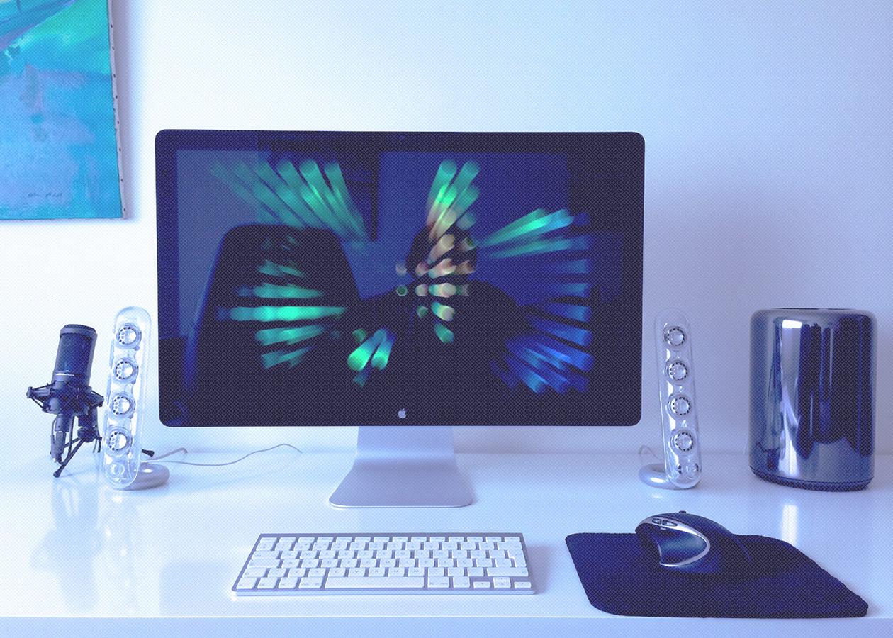 [Фотогалерея] Рабочие места в «яблочном» стиле. Часть 3
