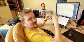 Рабочие места: Владимир Гриценко, основатель сервиса Tittygram