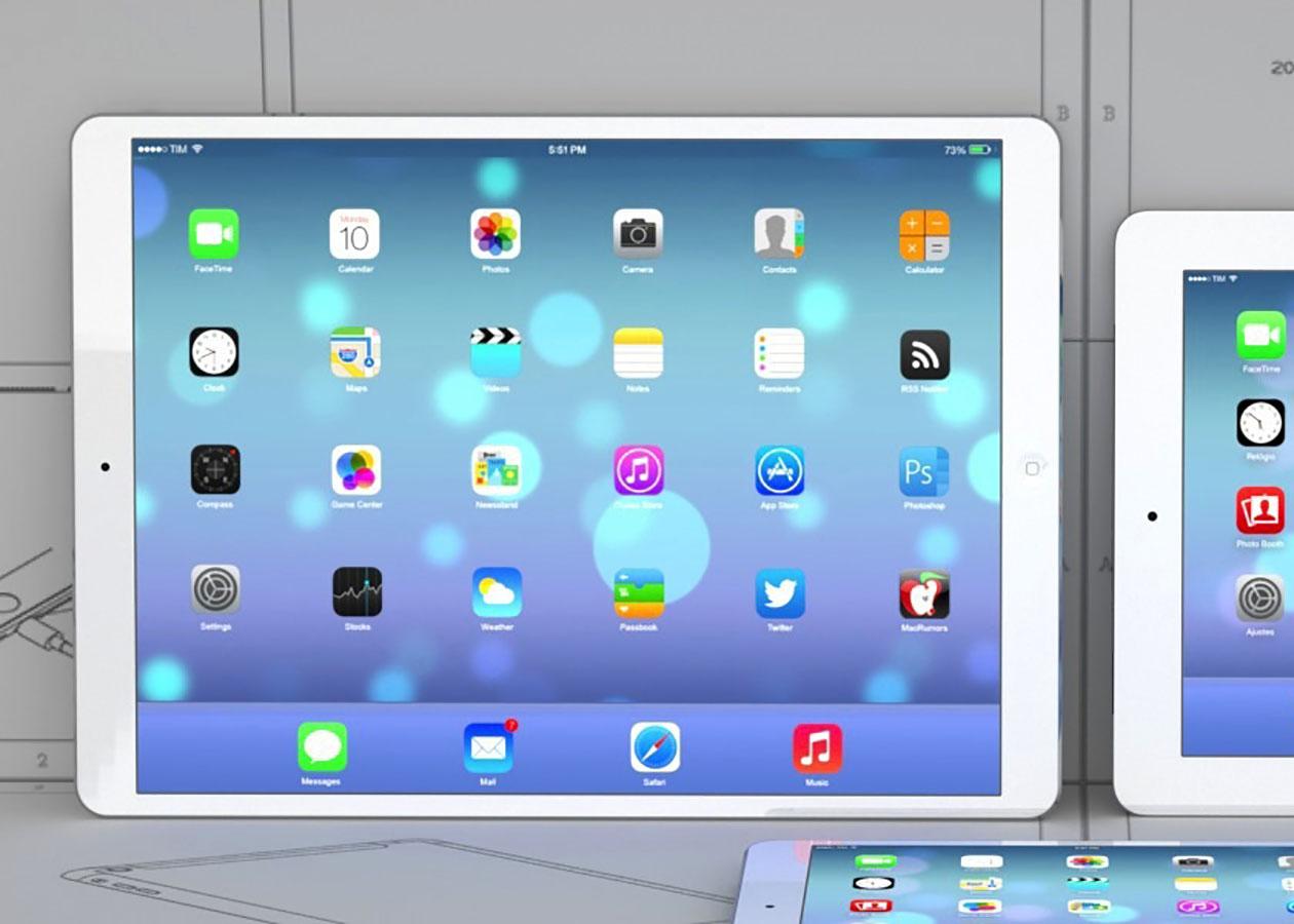 В iOS 9 обнаружили экранную клавиатуру iPad Pro