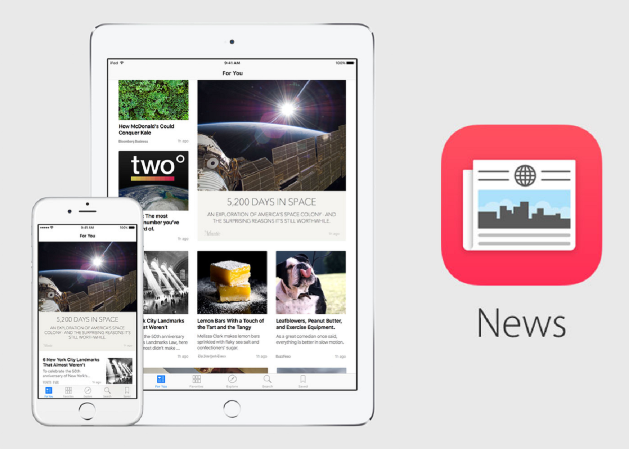 Контент в Apple News будут курировать журналисты и редакторы