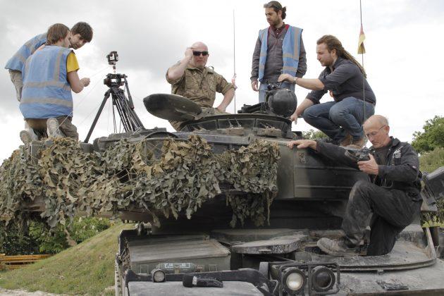 Совместный проект Wargaming и Google к Bovington Tankfest 2015