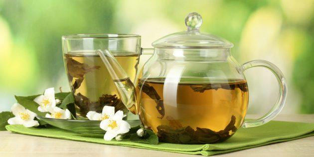 Зелёный чай — продукт против старения