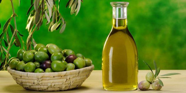 Оливковое масло — продукт против старения