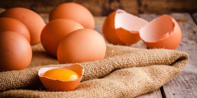 Яйца — продукт против старения