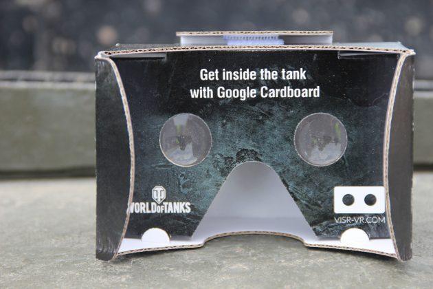 Google Cardboard по случаю Бовингтонского танкфеста 2015