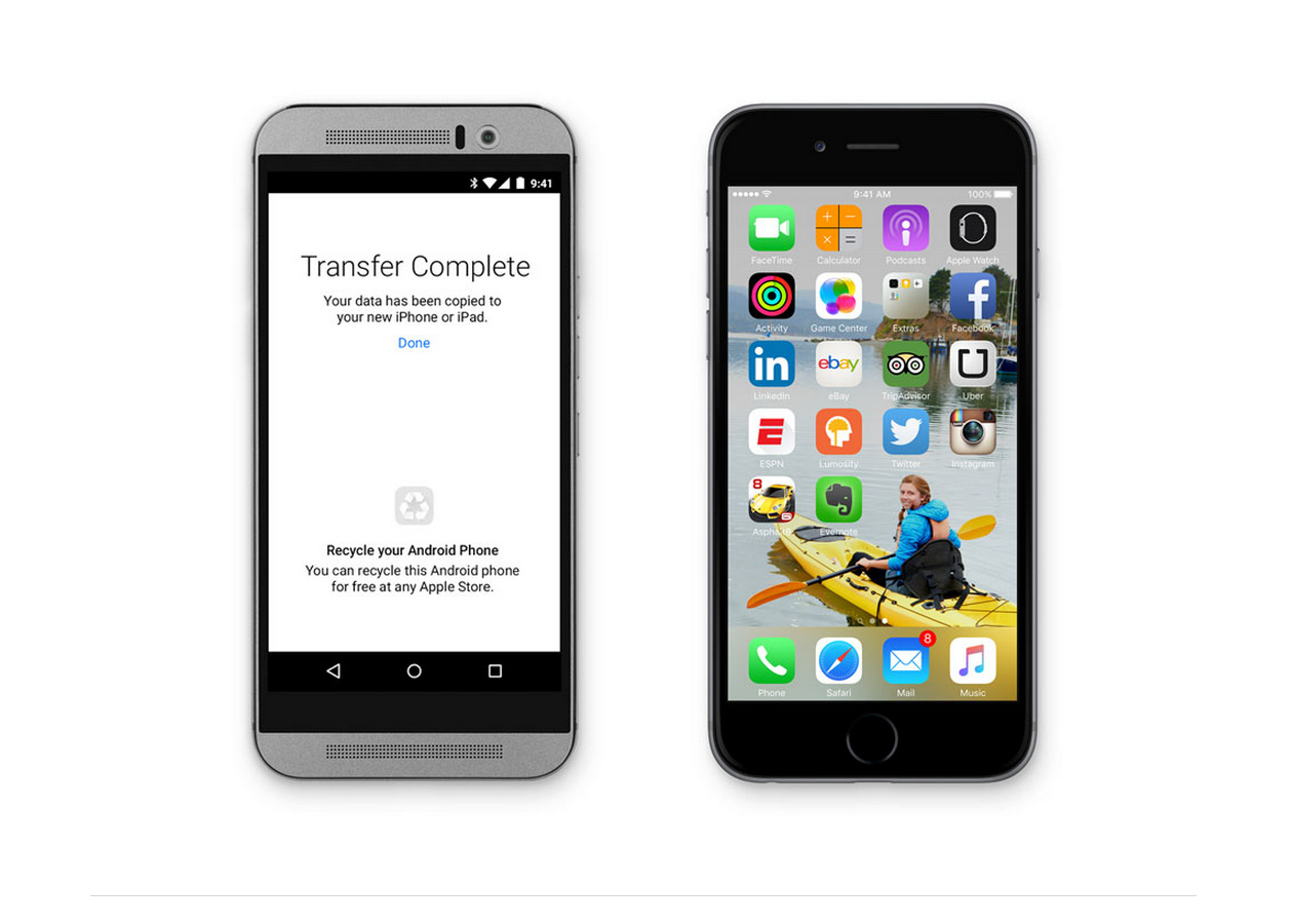Apple выпустит приложение под Android для миграции пользователей на iOS