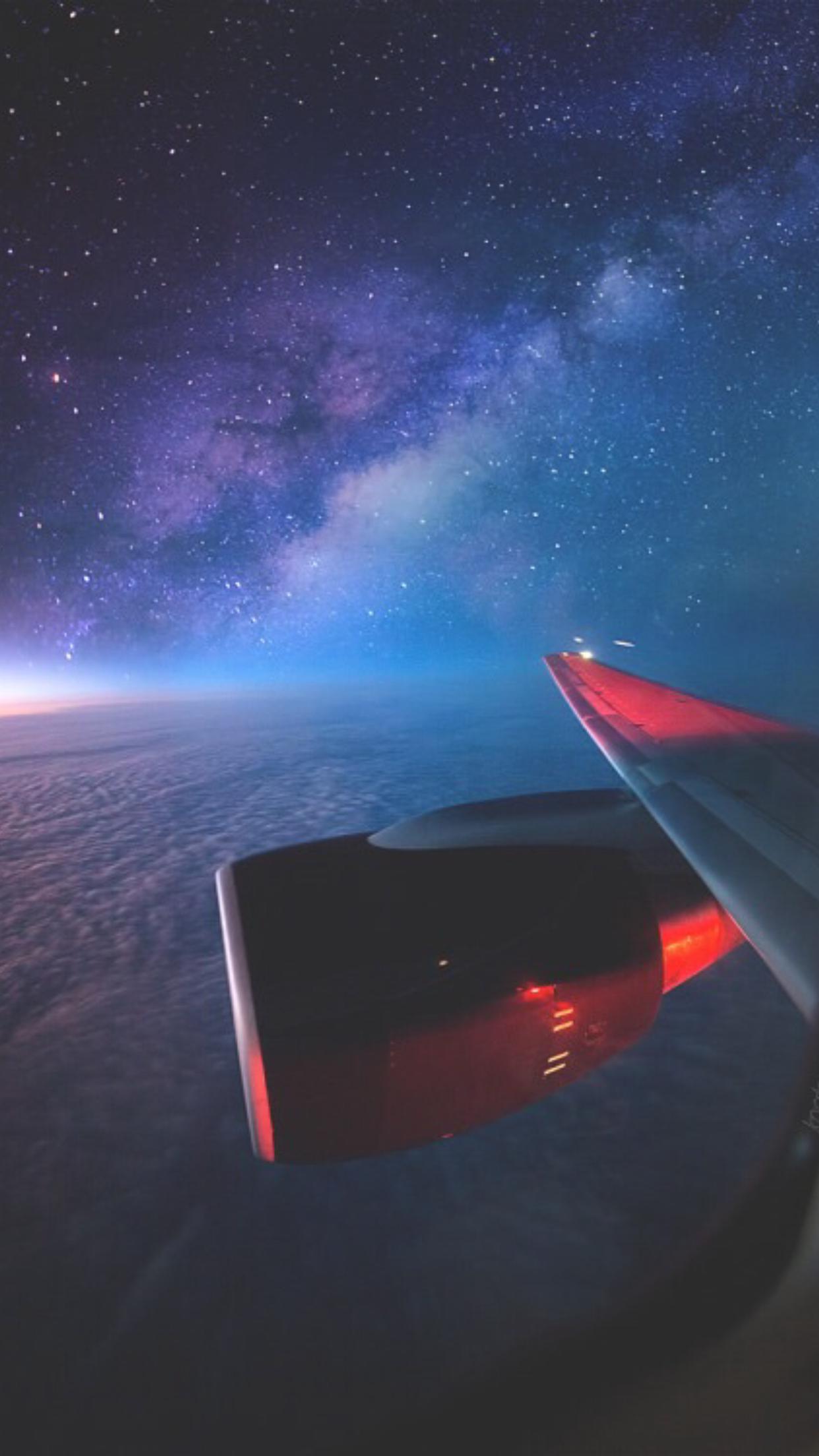 Обои Облака, Самолёт, красиво, 2015. Авиация foto 2