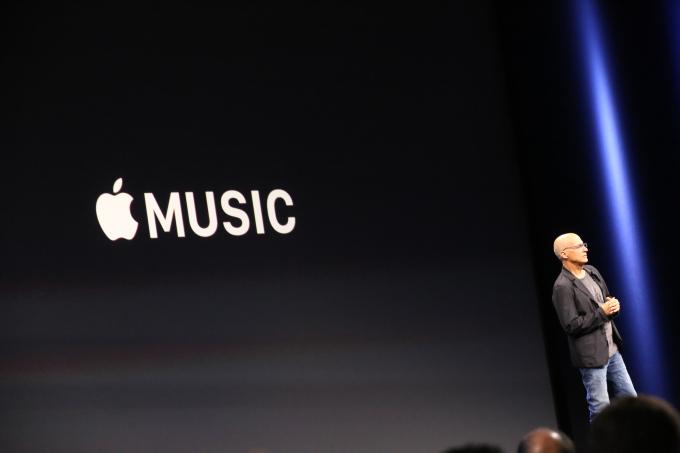 Apple представила сервис потокового вещания музыки Apple Music