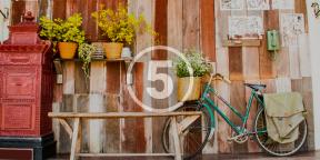 Где и как хранить велосипед: 5 простых DIY-решений