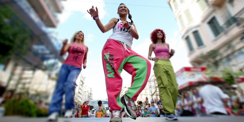 Зумба — весёлый способ похудеть для тех, кто любит танцы