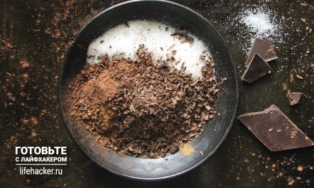 Ароматное какао с корицей и шоколадом: смешайте ингредиенты