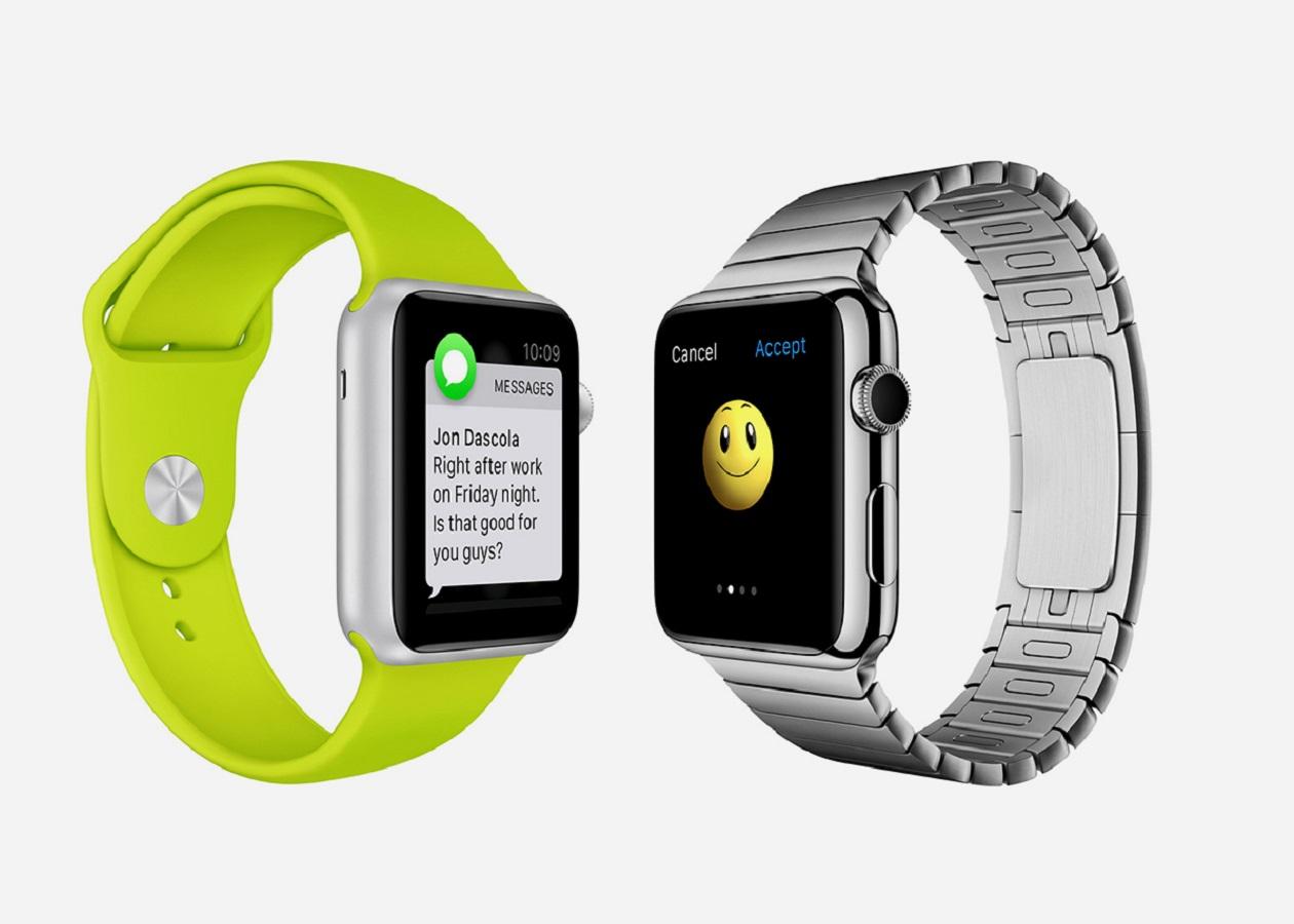 Apple запатентовала AirDrop для Apple Watch