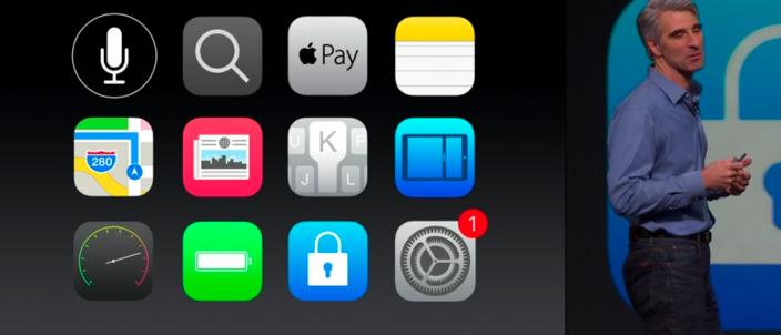 """В iOS 9 можно """"временно"""" удалять приложения при нехватке места для обновления ПО"""