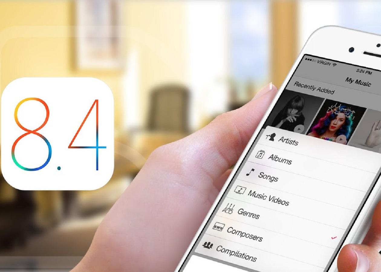 iOS 8.4 выйдет вместе с Apple Music 30 июня