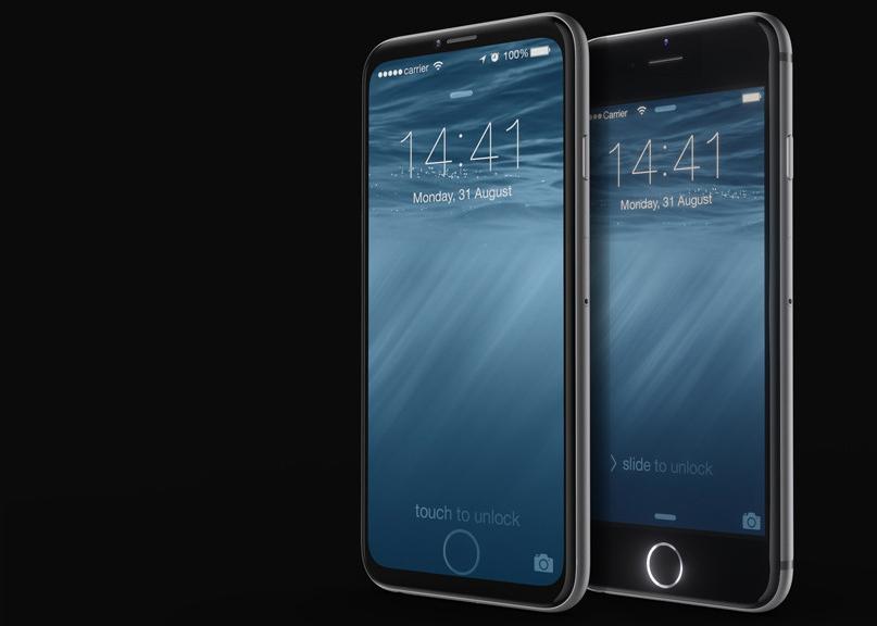 Кнопку Home встроят в экран iPhone