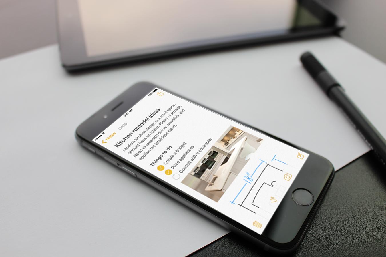 «Заметки» в iOS 9. Что нового