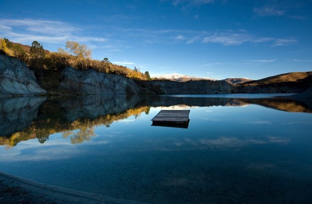Голубое озеро, Новая Зеландия