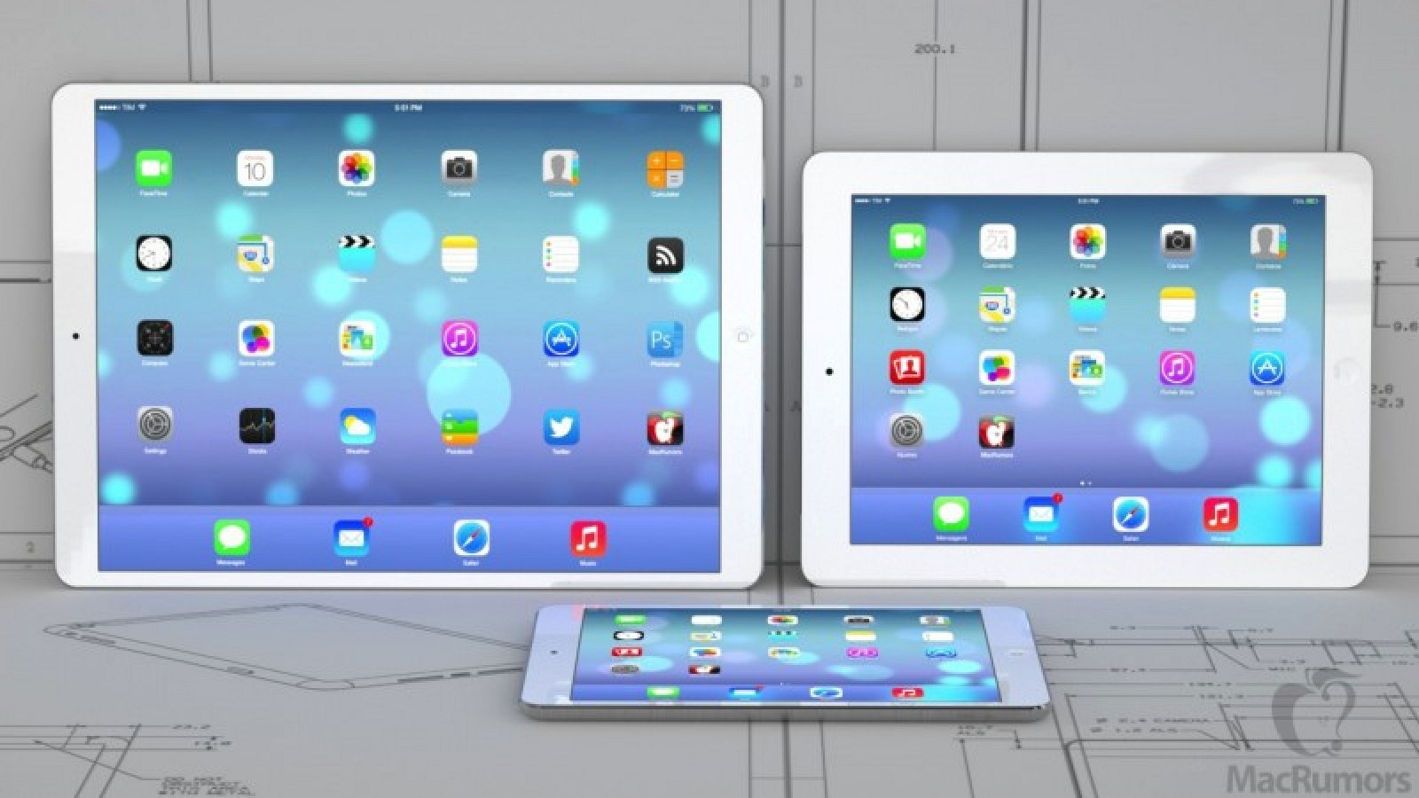 12,9-дюймовый iPad Pro представят в середине ноября