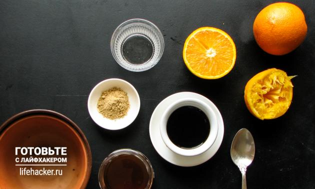 Остро-сладкий маринад для шашлыка из курицы: смешайте ингредиенты